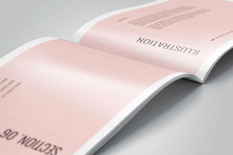 Booklet Catalog Printing 1