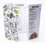 Disposable Restaurant Menus 14