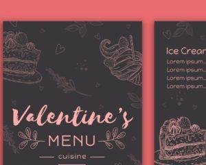 Valentines Day Menus 2